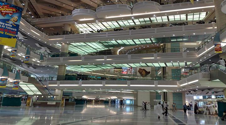 Abraj Al-Bait mall inside